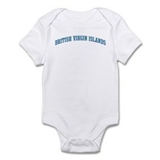 British Virgin Islands (blue) Infant Bodysuit