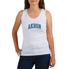 Akron (blue) Women's Tank Top