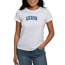 Akron (blue) Tee