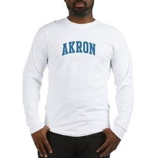Akron (blue) Long Sleeve T-Shirt