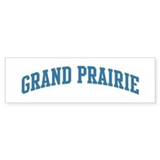 Grand Prairie (blue) Bumper Sticker (10 pk)
