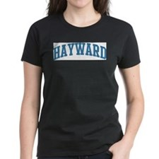 Hayward (blue) Women's Dark T-Shirt