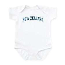New Zealand (blue) Infant Bodysuit