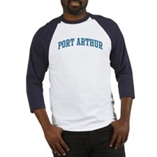 Port Arthur (blue) Baseball Jersey
