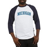 Michigan (blue) Baseball Jersey