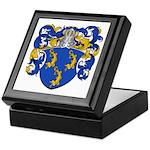 Van Der Put Coat of Arms Keepsake Box
