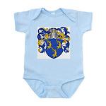 Van Der Put Coat of Arms Infant Creeper
