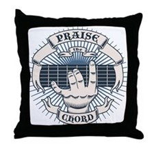 Praise the Chord Throw Pillow