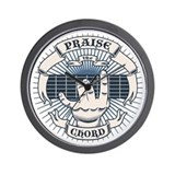 Praise the Chord Wall Clock