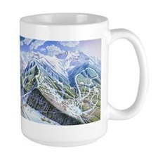 Unique Ski art Mug