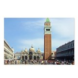 Piazza San Marco Postcards (Package of 8)