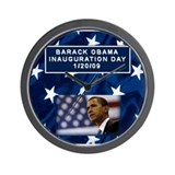 Funny Presidential inauguruation Wall Clock