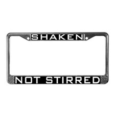 Cute Mustang License Plate Frame