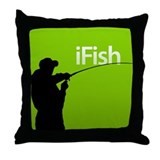 iFish Throw Pillow