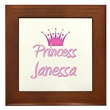 Princess Janessa Framed Tile