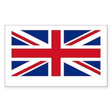 ENGLAND FLAG SHIRT Rectangle Sticker 50 pk)