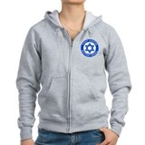 I Support Israel Zip Hoody