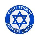 "I Support Israel 3.5"" Button"
