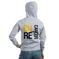 Cure Cancer (Childhood) Zip Hoodie