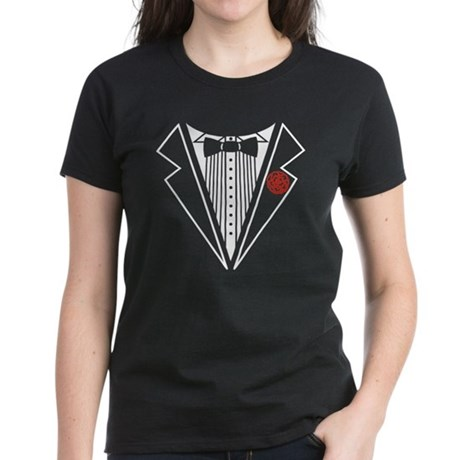 Tuxedo Women's Dark T-Shirt