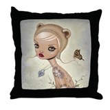 Lepidoptera's Locket Throw Pillow