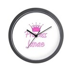 Princess Janae Wall Clock