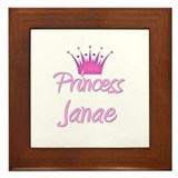 Princess Janae Framed Tile