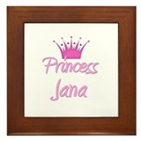 Princess Jana Framed Tile