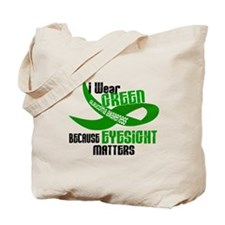 I Wear Green 33 (Eyesite Matters) Tote Bag