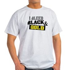 Bleed Black and Gold T-Shirt
