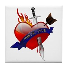 True Love Tile Coaster