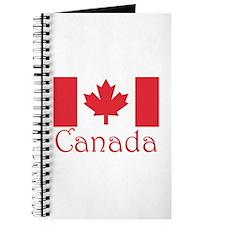 Canadian flag Journal