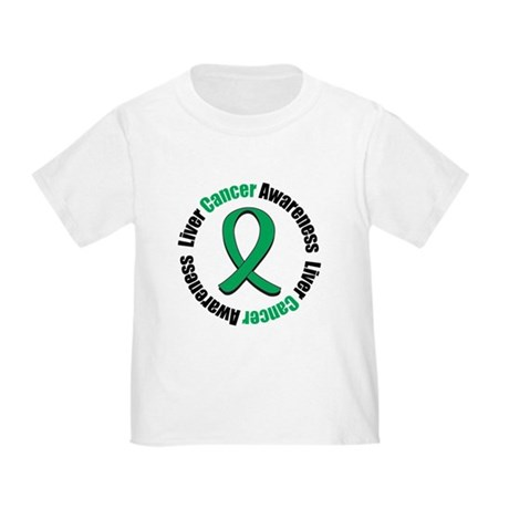 Liver Cancer Awareness Toddler T-Shirt