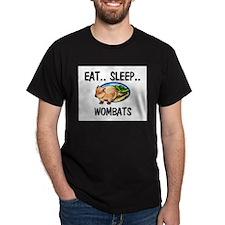 Eat ... Sleep ... WOMBATS T-Shirt