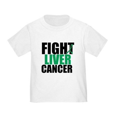 Fight Liver Cancer Toddler T-Shirt