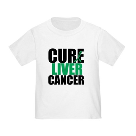 Cure Liver Cancer Toddler T-Shirt