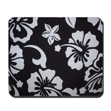 Tropical black Mousepad