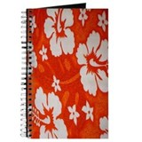 Tropical orange Journal
