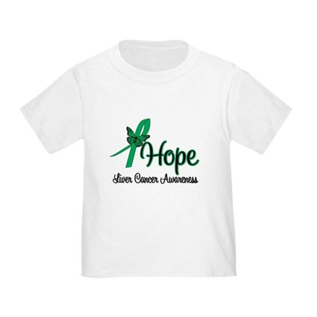 Liver Cancer Hope Toddler T-Shirt