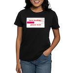 LOVE LOADING...PLEASE WAIT Women's Dark T-Shirt