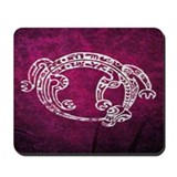 Polynesian print 3 Mousepad