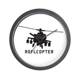 ROFLCOPTER Wall Clock