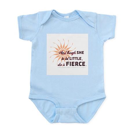 She is Fierce - Grunge Infant Bodysuit