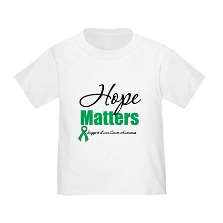 Hope Matters Liver Cancer Toddler T-Shirt