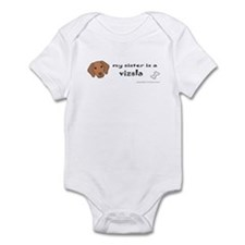 vizsla gifts Infant Bodysuit