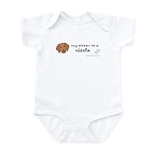vizsla gifts Infant Bodysuit