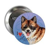 "Icelandic Sheepdog 2.25"" Button"
