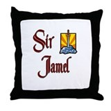 Sir Jamel Throw Pillow