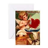 Valentine Cupid Greeting Card