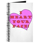 I Heart Your Face! Journal